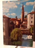 Cartolina Sacile Prov Pordenone  Veduta Sul Livenza  1970 Campanile  Ponte - Pordenone