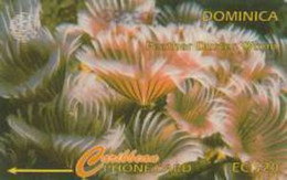 DOMINICA : 009G EC$20 Feather Duster Worm DUMMY No Control MINT - Dominica