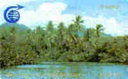 DOMINICA : 002A EC$5.40 Palms      (small) MINT - Dominica