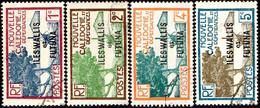 Wallis Et Futuna Obl. N°   43 à 46 - Baie De La Pointe Des Palétuviers - Used Stamps