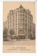 Carte De PARIS Hôtel Printania Avron 150 Rue D'avron  ( Recto Verso ) - District 20