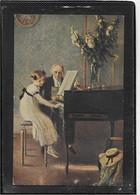 AK 0610  Muenir - Erste Klavierstunde / Künstlerkarte Um 1910-20 - Musique Et Musiciens