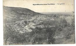 55 SAINT MAURICE SOUS LES COTES VUE GENERALE 1914 CPA 2 SCANS - Saint Jean Pied De Port