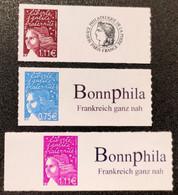Timbres Personnalisées Autoadhésifs N° 3729B/3729C/3729D  Neuf **  TTB - Personalized Stamps