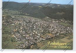 6340 DILLENBURG - FROHNHAUSEN, Luftaufnahme - Dillenburg