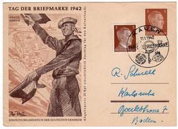 Pays Baltes : Ostland : Entiers Postaux : Occupation Allemagne 1942 ( Cachet Kauen ) - Europe (Other)