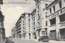 Algérie)   ALGER  - Boulevard Baudin Maison Des Etudiants Et Maison De L' Agriculture - Alger