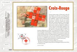 """"""" CROIX-ROUGE 2016 DE CASTELBAJAC """" Sur Feuillet CEF 1er Jour De 2016 Parfait état FDC - 2010-...."""