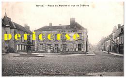51  Vertrus   Place Du Marché Et Rue De Châlons - Vertus