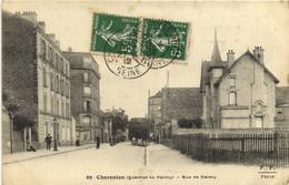 Charenton (Quartier De Valmy) Rue De Vamy  Recto Verso - Charenton Le Pont