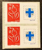 Timbres Personnalisées Autoadhésifs N° 3802Aa X2 (Timbre De Roulettes)  Neuf **  TTB - Personalized Stamps
