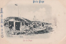 LETOUQUET    PARIS PLAGE            SUR LA PLAGE      PRECURSEUR  1899 - Le Touquet