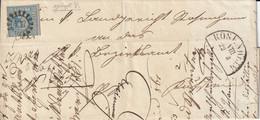 Allemagne Bavière Lettre Rosenheim 1861 - Briefe U. Dokumente