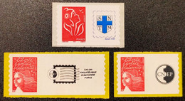 Timbres Personnalisées Autoadhésifs N° 3729A/3729Aa/3802Aa  Neuf **  TTB - Personalized Stamps