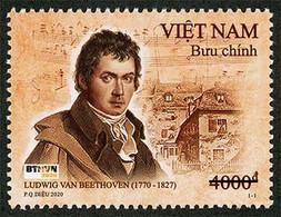Vietnam Viet Nam Booklet Ssued On 16th Of Dec 2020 : 250th Birth Anni. Of Ludwig Van Beethoven (Ms1138) - Vietnam