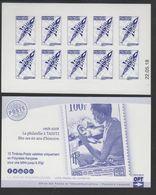 POLYNESIE. CARNET A USAGE COURANT Emblème Postal Bleu CD 22 05 18 Scan Recto Verso - Boekjes