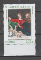 "FRANCE / 2020 / Y&T N° 5396 ** : ""Vierge De Lorette"" (Raphaël) X 1 BdF Bas - Neufs"