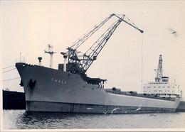 1967 FOTOGRAFIA ORIGINAL TEMA BARCOS , SHIPS , BATEAUX , SCHIFF , FORMATO 105 X 72 Mm. DIETRICH / LICHTENSTEIN - Boats