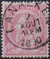 N° 46 Oblitération LANAEKEN - 1884-1891 Leopold II