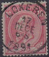 N° 46 Oblitération LOKEREN - 1884-1891 Leopoldo II