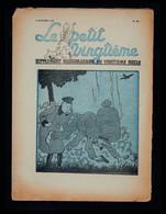 Hergé - Tintin -Le Petit Vingtième N° 40 Du 06/10/1937 - E.O. - L' ILE NOIRE  Les Nouvelles Aventures De TINTIN Et MILOU - Kuifje