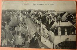 CARTE PESMES - 70 - VUE GENERALE PRISE DU CLOCHER - 1913 - SCANS RECTO VERSO - 3 - Sonstige Gemeinden
