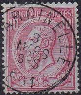 N° 46 Oblitération MARCINELLE - 1884-1891 Leopold II.