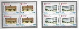 EUROPA, 1990 Serie In Quartina** - 1981-90: Neufs