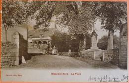 CARTE MISSY SUR AISNE - 02 - LA PLACE - ISSUE DE CARNET - SCAN RECTO/VERSO - 8 - Sonstige Gemeinden