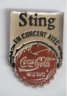 R08 Pin's Sting Groupe Police Coca Cola Coke Achat Immédiat - Coca-Cola