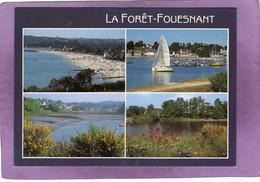 29 LA FORET FOUESNANT  La Plage De Kerleven Le Port Et L'Anse De La Forêt Multivues - La Forêt-Fouesnant
