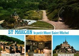 CPM - St MARCAN - Le Petit Mt St Michel … Lot De 2 Cartes - Edition Combier - Autres Communes