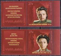 RUSSIE/RUSSIA/RUSSLAND/ROSJA 2019 MI.2671-72** ,ZAG.2453-54,YVERT.Secret Service Agents Africa De Las Heras And Zoya - Unused Stamps