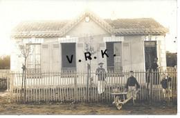 92 - CLAMART - Photo Carte - Chalet Robert Gaston Avenue Des Tilleuls , Jardin Parisien - Voir Cachet Au Dos - SUP - Clamart