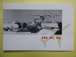 AIRLINE ISSUE / CARTE COMPAGNIE      AIRBORNE EXPRESS / ABX AIR - 1946-....: Modern Era