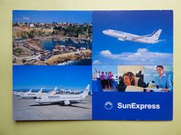 AIRLINE ISSUE / CARTE COMPAGNIE      SUN EXPRESS - 1946-....: Modern Era