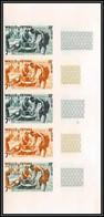 92540 Wallis Et Futuna  N°157B Kava Boisson Traditionnelle 1957 Traditional Drink Essai Proof Non Dentelé Imperf ** MNH - Imperforates, Proofs & Errors