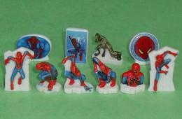Série De Fèves Complète : Spider-man , Spiderman , 2012 - Cartoons