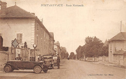 La Chapelle De Guinchay Pontanevaux RN6 Voitures Garage Renault Pneus Goodrich Station Essence - Sonstige Gemeinden