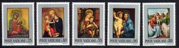 Vatican 1971 Yvert 522 / 526 ** TB Bord De Feuille - Unused Stamps
