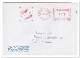Nederland 1983, ANWB - Marcophilie - EMA (Empreintes Machines)
