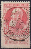 N° 74 Oblitération WYNKEL- Ste CROIX Type T1L (COBA + 30) - 1905 Thick Beard