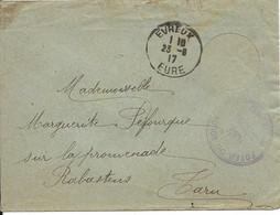 France LSC FM Foyer Du Soldat Evreux 23/08/17 - Guerre De 1914-18