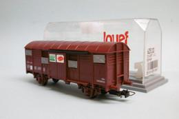Jouef - Wagon COUVERT SERNAM UIC Réf. 625100 BO HO 1/87 - Güterwaggons