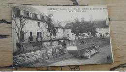 RIEUTORT : L'arrivée De L'autobus Au Bureau De Poste  ................ 395 - Autres Communes