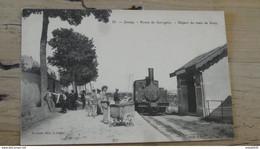 JUSSEY : Route De Gevigney, Départ Du Train De Gray ................ 368 - Otros Municipios