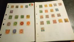 DM179 MONDE GROS LOT FEUILLES NEUFS / OB A TRIER COTE++ DÉPART 15€ NOUVEAU PRIX 12€ - Sammlungen (im Alben)