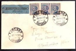 F5941  - RARO EPRESSO MONOCOLORE MICHETTI - Storia Postale