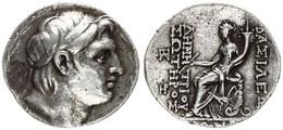 Antique Coins, Greek Coinage, Seleukid Kingdom, Demetrios I, Silver Tetradrachm 162-150BC, A.VF - Greche