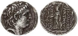 Antique Coins, Greek Coinage, Seleukid Kingdom, Demetrios II, Silver Tetradrachm 129-125BC, A.VF - Greche